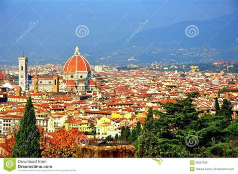 time out florence city florence city panoramic view italy royalty free stock images image 28367839
