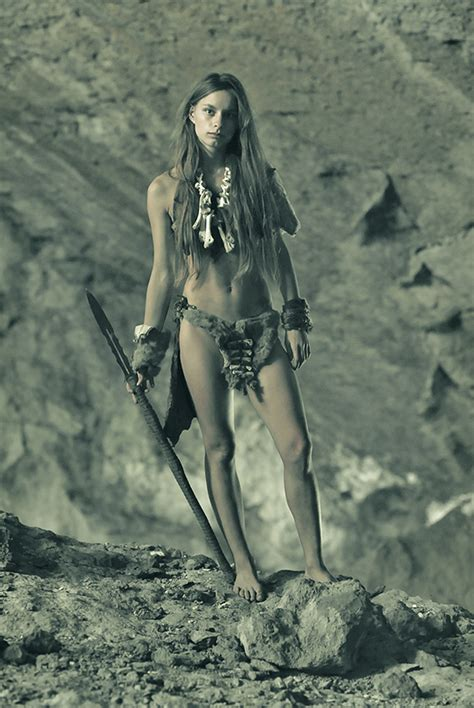 Cave Girl By Ohlopkov On Deviantart