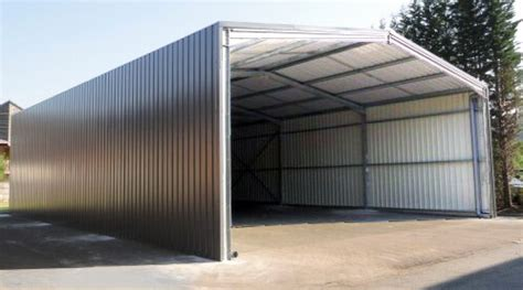 Construire Garage Bois 2001 by Industrial Shed In Kit Easy Steel Sheds
