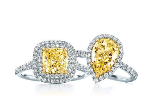 yellow engagement ring vintage