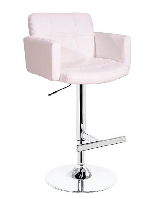 white leather bar stools contemporary t 1040 off white eco leather contemporary bar stool