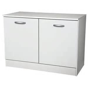 Supérieur Meuble Bas Salon Pas Cher #4: meuble-de-cuisine-bas-2-portes-blanc-h86x-l120x-p60cm.jpg