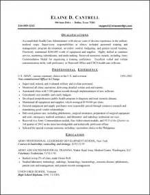 Sample Resume Objectives Healthcare by Healthcare Administration Resume Objective