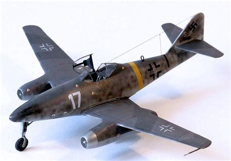 A1toys Easy Model Me 262 A 1a White 8 Pesawat Tempur Da revell ag 1 72 me 262a 1a by fernando rolandelli