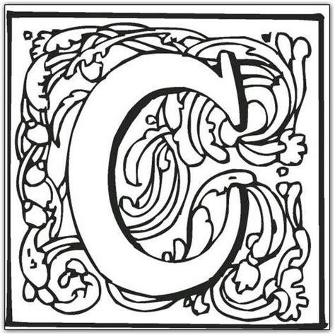coloring pages of fancy alphabet letters fancy block alphabet coloring page 2 png 525 215 525
