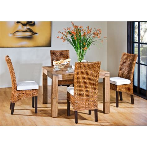 Bamboo Dining Room Furniture Bamboo Dining Room Set Marceladick