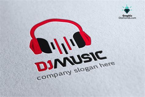 Dj Music Logo Design Template By Graphicdiamonds On Deviantart Photoshop Dj Logo Templates