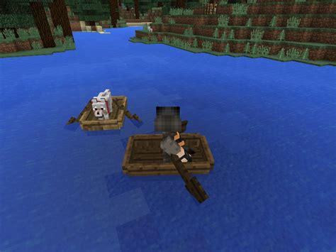 minecraft dog on boat how to put your dog in a boat minecraft pe dogs breed