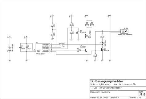treppenhaus beleuchtung mit bewegungsmelder dg7xo 180 s homepage selbstbauprojekte ir bewegungsmelder