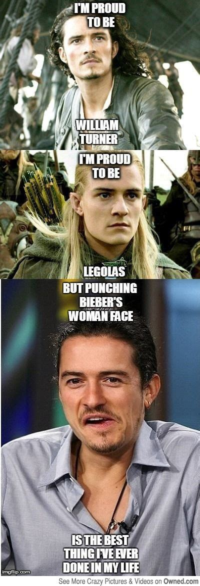 Orlando Bloom Meme - quot they hate bieber they want him dead orlando didnt even