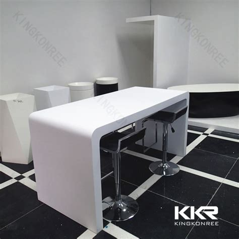 Quartz Bar Table Meeting Room Canteen Tables And Chairs Dining Tables Quartz Top