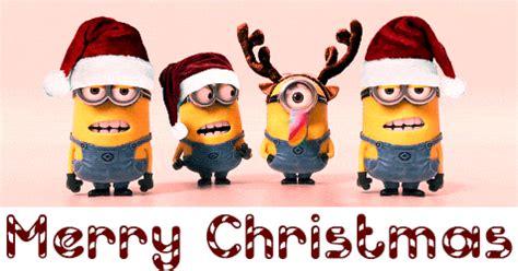 funny christmas gifs  facebook merry christmas minions merry christmas gif merry