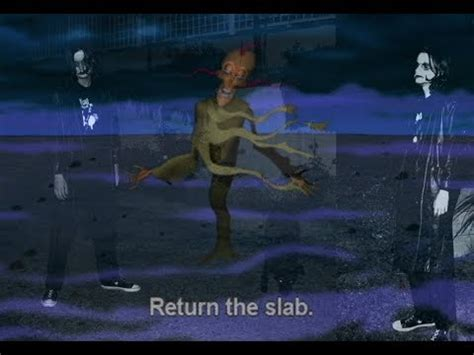 courage the cowardly return the slab return the slab a metal song about courage the cowardly