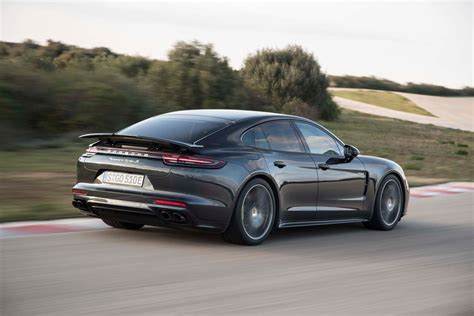 Porsche Panamera S by 2018 Porsche Panamera S E Hybrid Rear Three Quarter In