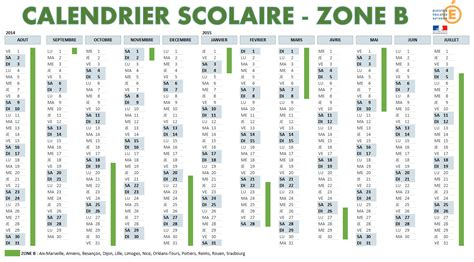 Calendrier 2017 Zone A Zone B Calendrier Scolaire 2016 Clrdrs
