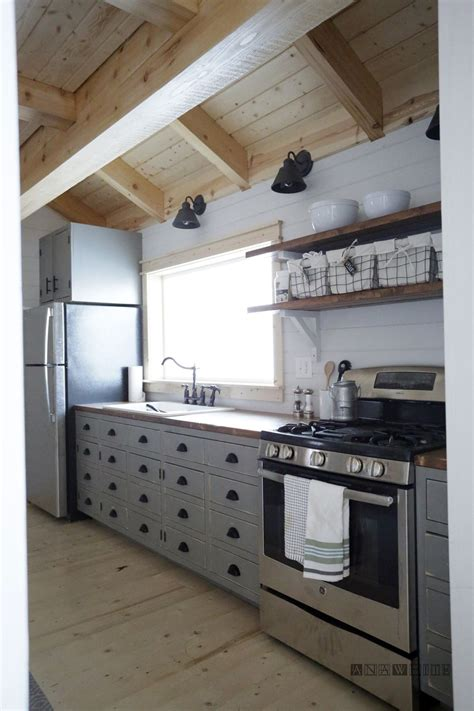 diy kitchen white build a diy apothecary style kitchen cabinets