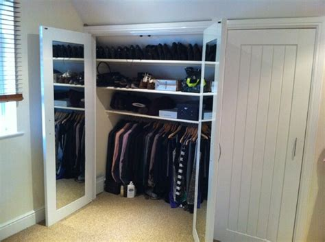 storage solutions for attic bedrooms to do upstairs attic wardrobe our new home pinterest