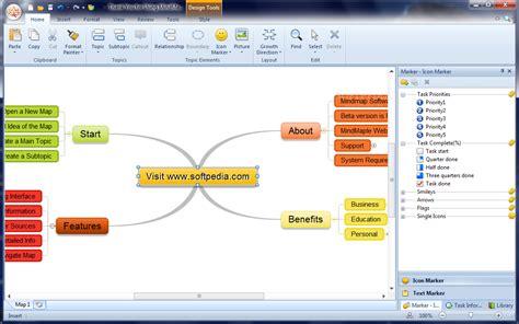 Microsoft Office 2007 Di Malaysia membuat peta minda mudah dengan mindmaple shaff media