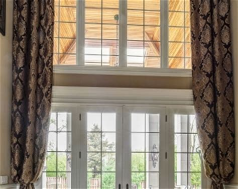 floor to ceiling window treatments custom window treatments projects linly designs