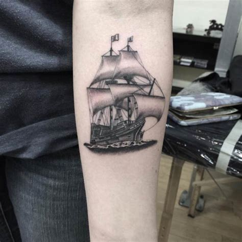 50 amazing ship tattoos you won t believe are real