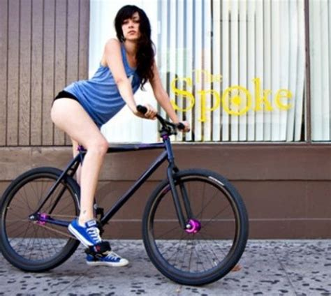 hot girls on fixie bikes 26 best images about for having one less car on pinterest