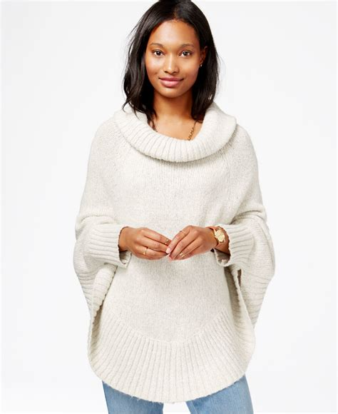 knitting pattern poncho with sleeves cowl neck poncho with sleeves images