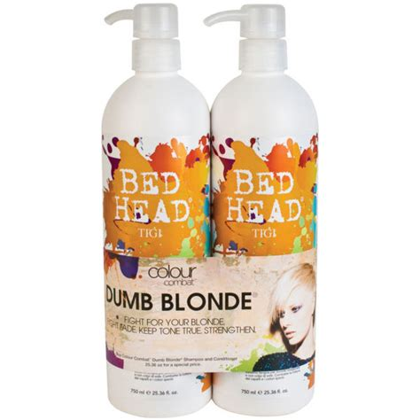 bed head dumb blonde review tigi bed head colour combat dumb blonde tween duo 2 x