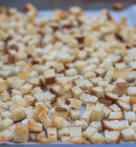 homemade bread cubes jerry james stone