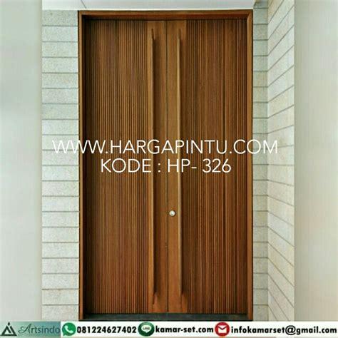 Hp Pintu desain pintu minimalis motif salur kupu tarung harga murah