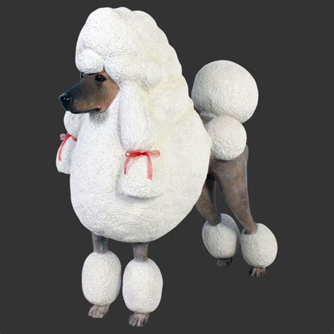 lifespan of standard poodle standard poodle statue 36 quot size statue