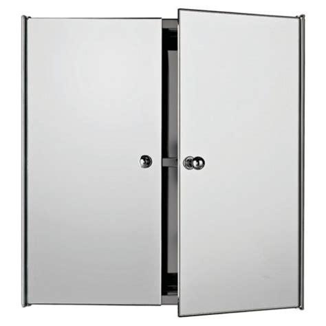 double door mirrored bathroom cabinet buy stainless steel mirrored double door bathroom cabinet