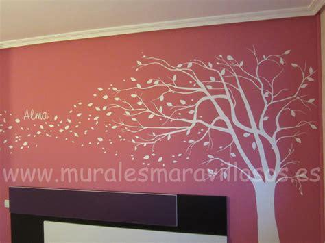 murales juveniles mujer pintura de 193 rboles y flores