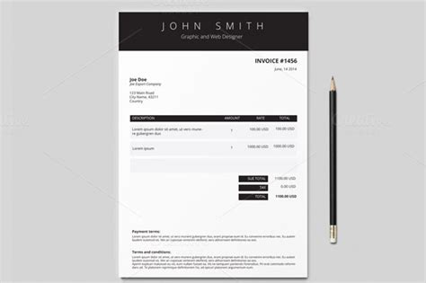 creative invoice template creative invoice template free to do list