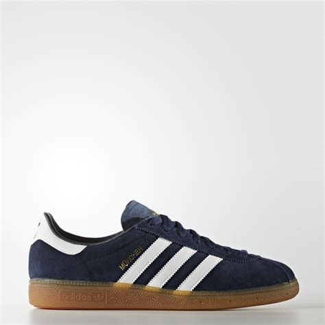 Adidas Munchen Snakers adidas m 252 nchen shoes blue adidas uk
