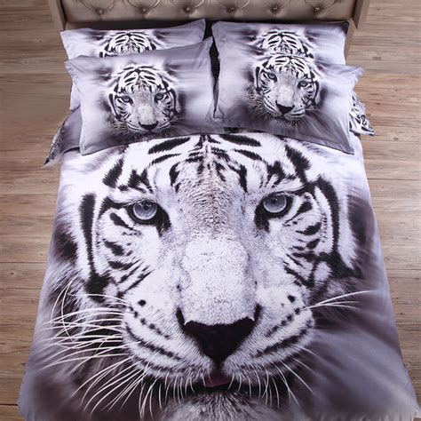 white tiger bed set get cheap white tiger sheets aliexpress alibaba