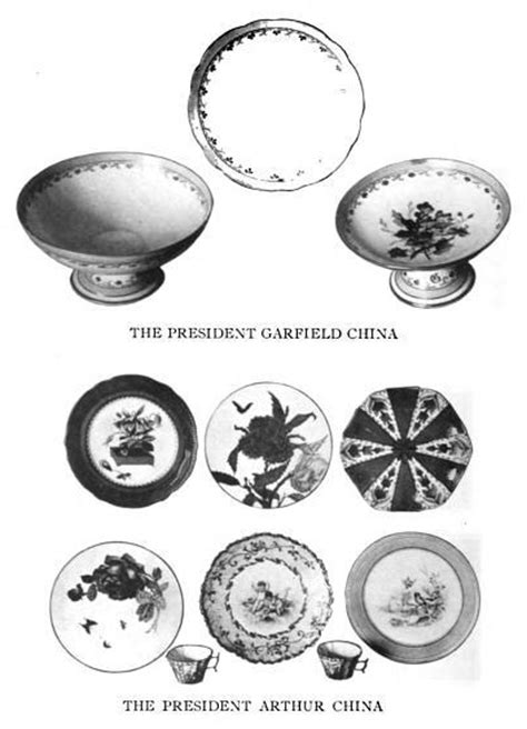 china house garfield pottery and porcelain chapter a the white house collection of presidential china