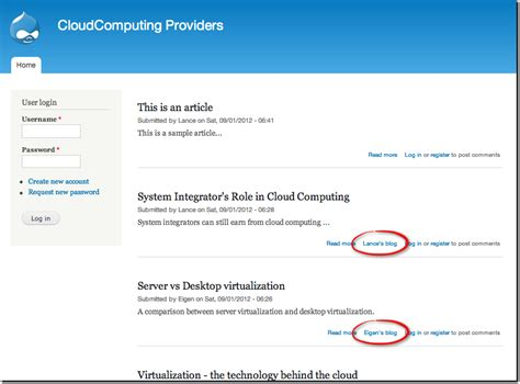 tutorial adding configuring and using the drupal blog tutorial adding configuring and using the drupal blog