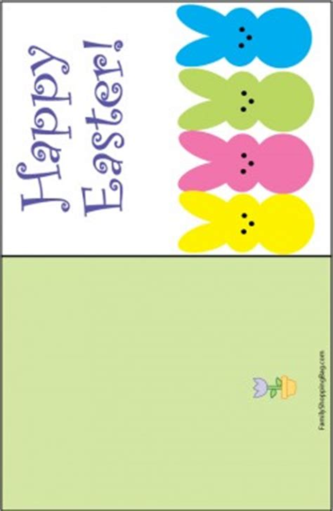 printable children s easter cards easter card peeps easter invitations free printable