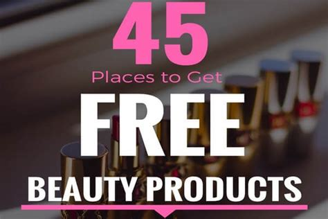 Beauty Surveys For Money - free beauty sles 45 places to get em by mail or