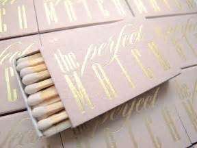 And Gold Wedding Favors by 20 The Match Matchbox Wedding Favors