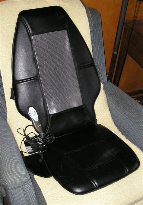 Homedics Shiatsu Chair by Homedics Shiatsu Massaging Cushion Seat Chair Model Sbm
