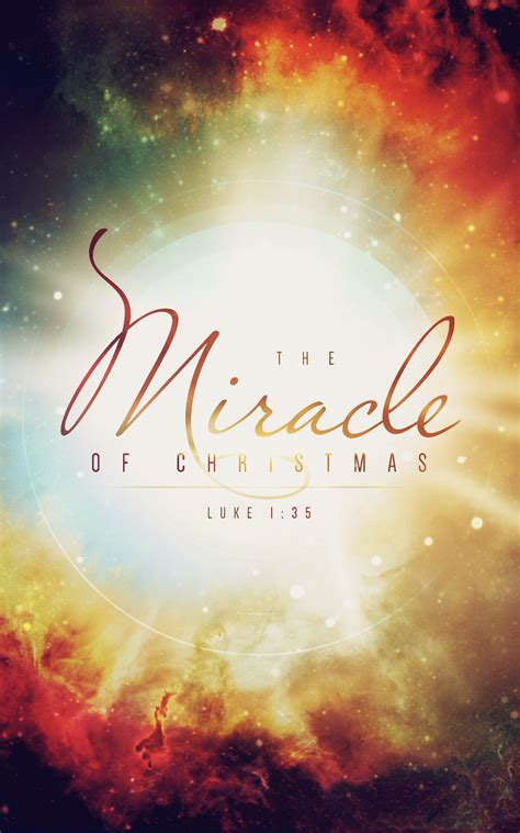 The Miracle On Free Your Bulletins Here Sharefaith Magazine