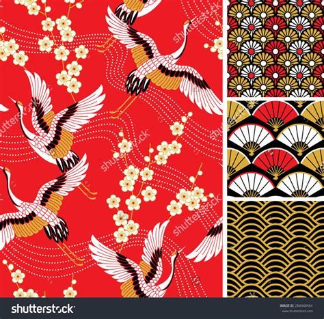 japan pattern pinterest japanese pattern set seamless vector ornaments with