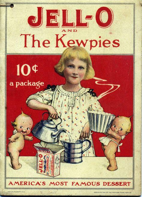 kewpie recipe book original image missing vintage jello kewpies cookbook