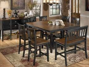 owingsville square counter height dining room set d580