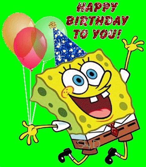 Spongebob Birthday Quotes Happy Birthday To You Spongebob Birthday Greetings