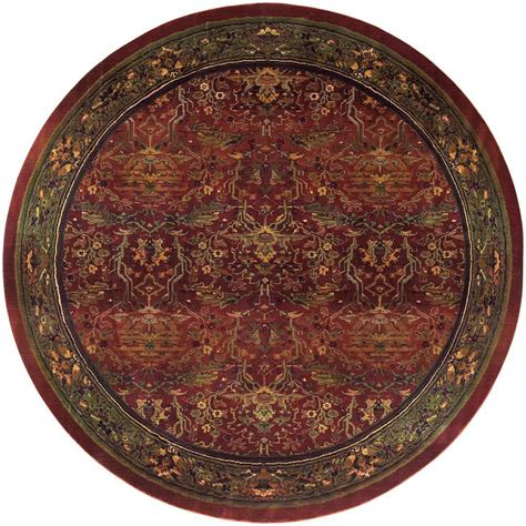 6ft Circular Rugs by Home Decorators Collection Peace Brick 6 Ft X 6 Ft