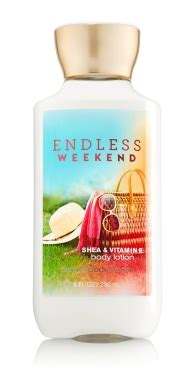 Lot Endless Weekend free bath works endless weekend lotion with any