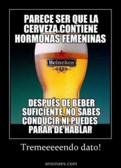 imagenes de viernes bebiendo parece ser q la cerveza contiene hormonas femeninas