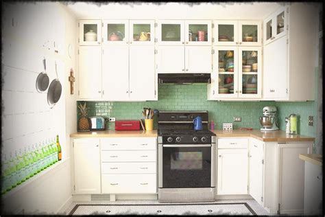 hanging kitchen cabinets small kitchen design with white hanging cabinets and